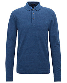BOSS Men's Long-Sleeve Polo