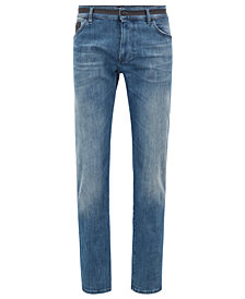 BOSS Men's Regular/Classic-Fit Stretch Denim Jeans