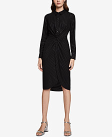 BCBGeneration Twist-Knot Shirtdress