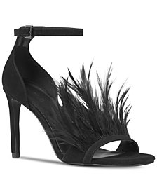 MICHAEL Michael Kors Asha Feather Two Piece Sandals