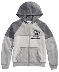Epic Threads Big Boys Ski Team Full-Zip Hoodie, Created for Macy's