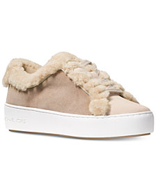 MICHAEL Michael Kors Poppy Lace-Up Sneakers
