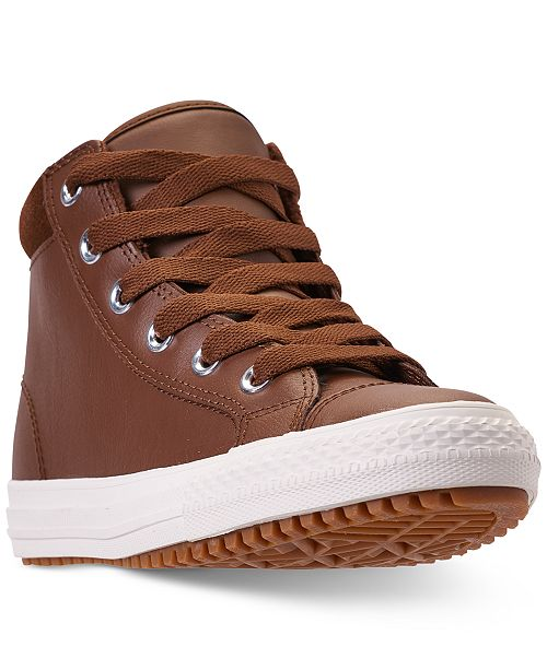 2573ba8fa653 ... Converse Boys  Chuck Taylor All Star PC Boot Casual Sneakers from  Finish ...