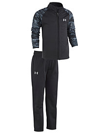 Under Armour Little Boys 2-Pc. Static Track Jacket & Pants Set