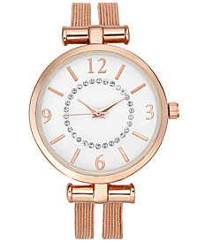 Charter Club Women's Double-Row Mesh Strap Watch 32mm, Created for Macy's