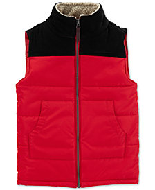 Carter's Toddler Boys Colorblocked Zip-Up Puffer Vest