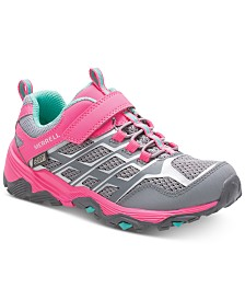 Merrell Big Girls Moab Fast Waterproof Sneakers