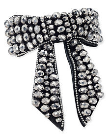 I.N.C. Beaded Bow Barrette, Created for Macy's