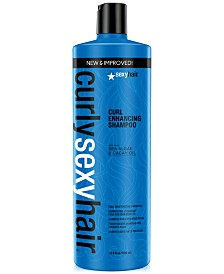 Curly Sexy Hair Curl Enhancing Shampoo, 33.8-oz., from PUREBEAUTY Salon & Spa