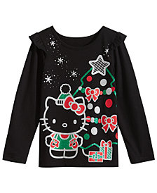 Hello Kitty Little Girls Graphic-Print T-Shirt