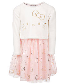 Hello Kitty Little Girls Layered Look Dress