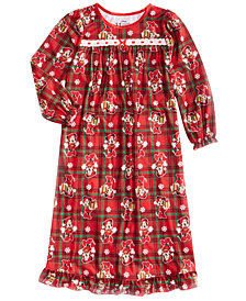 Minnie Mouse Toddler, Little & Big Girls Printed Nightgown