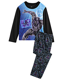 Marvel Little & Big Boys 2-Pc. Black Panther Pajama Set