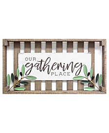 Stratton Home Decor Gathering Place Crate Style Wall Decor