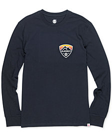 Element Men's Long-Sleeve Logo T-Shirt