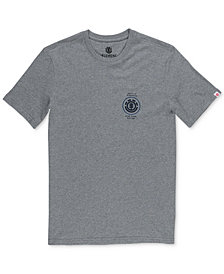 Element Men's Hops Heather Logo Graphic T-Shirt