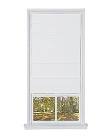 Cordless Cotton Fabric Roller Shade, 35x64