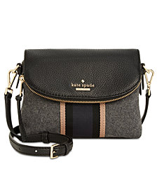 kate spade new york Jackson Street Web Harlyn Crossbody