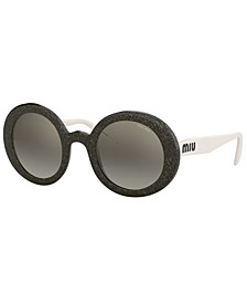 Sunglasses, MU 06US 48