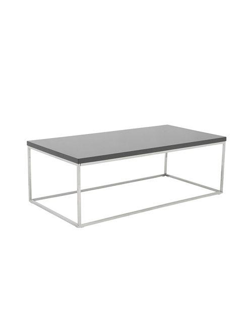 Euro Style Teresa Rectangular Coffee Table