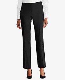 Lauren Ralph Lauren Straight Stretch Pants