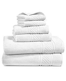 Martha Stewart Collection Spa Cotton 6-Pc. Towel Set, Created for Macy's