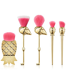 Tarte 5-Pc. Let's Flamingle Brush Set. A $136 Value!
