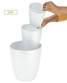 3-Pc. Office and Bath Bin Set