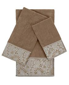 Sherry Kline Fern 3-piece Embellished Towel Set