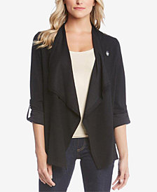Karen Kane Roll-Tab Draped Jacket