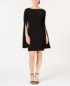 Tommy Hilfiger Split-Sleeve A-Line Dress