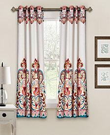 "Clara 63"" x 52"" Room Darkening Window Curtain Set"