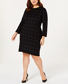 Anne Klein Plus Size Printed Dress