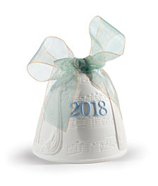 Lladró 2018 Christmas Bell Ornament