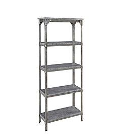 Home Styles Urban Style 5-Tier Storage Shelf
