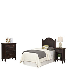 Chesapeake King Poster Bed and Night Stand