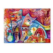 Oxana Ziaka 'Florence Cats' Canvas Art Collection