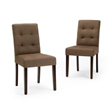 Set of 2 Minton Dining Chair, Quick Ship