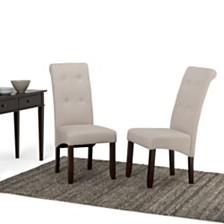 Set of 2 Verona Dining Chair, Quick Ship