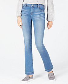 I.N.C. Petite Tummy Control Bootcut Jeans, Created for Macy's