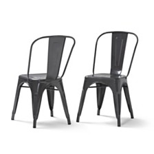 Set of 2 Fletcher Dining Chair II, Quick Ship