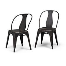 Set of 2 Merritt Dining Chair, Quick Ship