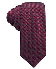 Alfani Men's Neat Slim Silk Tie, Created for Macy's
