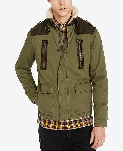 a03677c2b Buffalo David Bitton Men s Jidrus Cargo Jacket   Reviews - Coats ...
