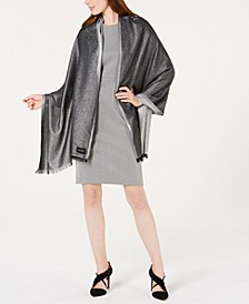 Lightweight Metallic Evening Wrap