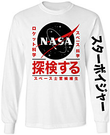 NASA Men's Long-Sleeve T-Shirt