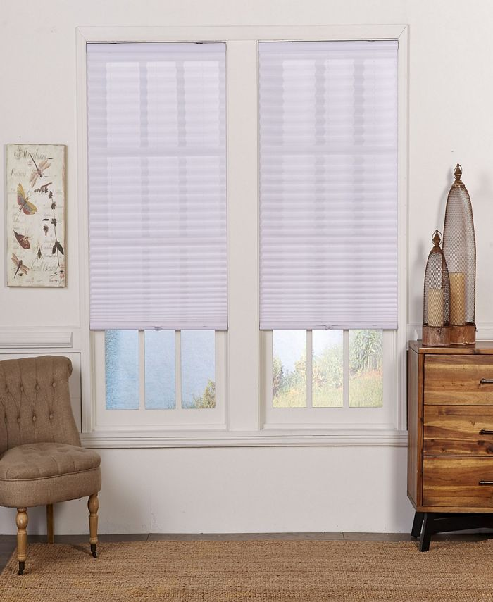 The Cordless Collection - Cordless Light Filtering Pleated Shade, 39.5x72