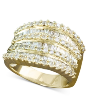 Effy Diamond Ring in 14k White or Yellow Gold (1-1/2 ct. t.w.) -  Effy Collection, WP0C653DD4