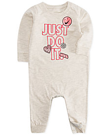 Nike Baby Girls Doodle-Print Coverall