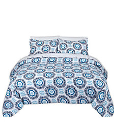 Scandi Floral Full/Queen Comforter Set